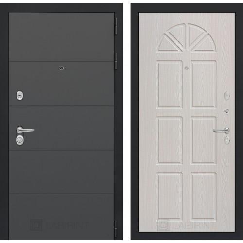 Входная дверь ART графит 15 - Алмон 15