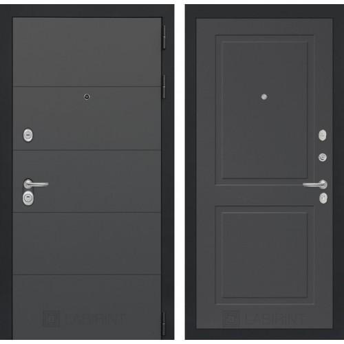 Входная дверь ART графит 11 - Графит софт