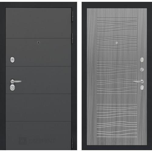 Входная дверь ART графит 06 - Сандал серый