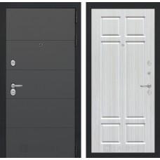 Входная дверь ART графит 08 - Кристалл вуд