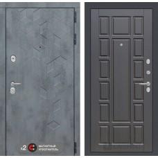 Входная дверь Бетон 12 - Венге