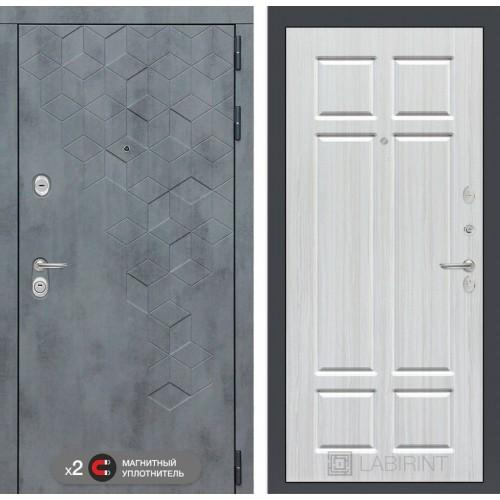Входная дверь Бетон 08 - Кристалл вуд