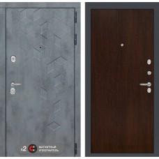 Входная дверь Бетон 05 - Венге