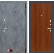 Входная дверь Бетон 05 - Итальянский орех