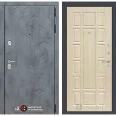 Входная дверь Бетон 12 - Беленый дуб