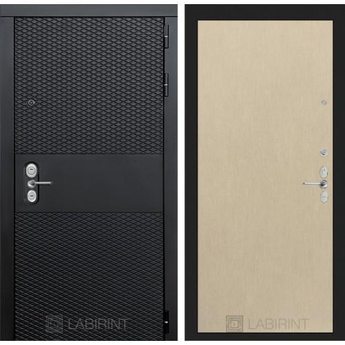Входная дверь BLACK 05 - Венге светлый