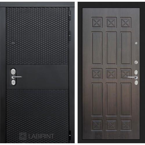 Входная дверь BLACK 16 - Алмон 28