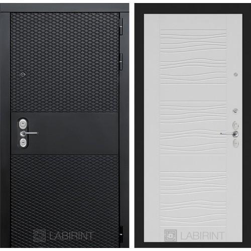 Входная дверь BLACK 06 - Белое дерево