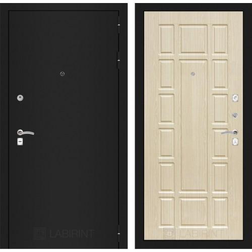 Входная дверь CLASSIC антик медный 09 - Лен сильвер грей