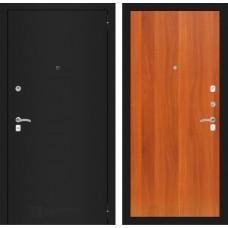 Входная дверь CLASSIC шагрень черная 05 - Итальянский орех
