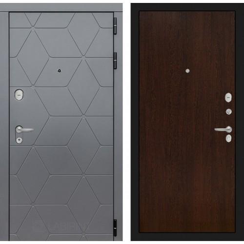 Входная дверь CLASSIC антик медный 13 - Грей софт