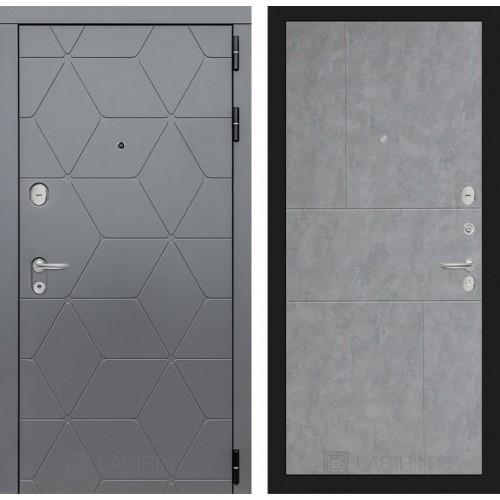 Входная дверь COSMO 21 - Бетон светлый