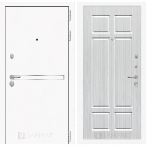 Входная дверь Лайн WHITE 08 - Кристалл вуд