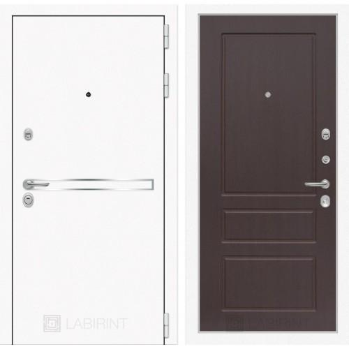 Входная дверь Лайн WHITE 03 - Орех премиум