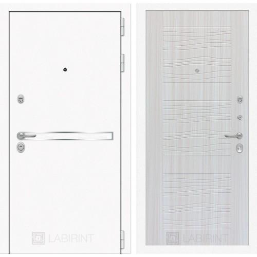 Входная дверь Лайн WHITE 06 - Сандал белый