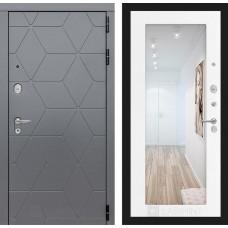 Входная дверь Лайн WHITE 10 - Дуб филадельфия графит