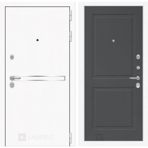 Входная дверь Лайн WHITE 11 - Графит софт