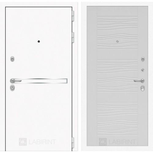 Входная дверь Лайн WHITE 06 - Белое дерево