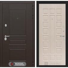 Входная дверь Мегаполис 04 - Беленый дуб