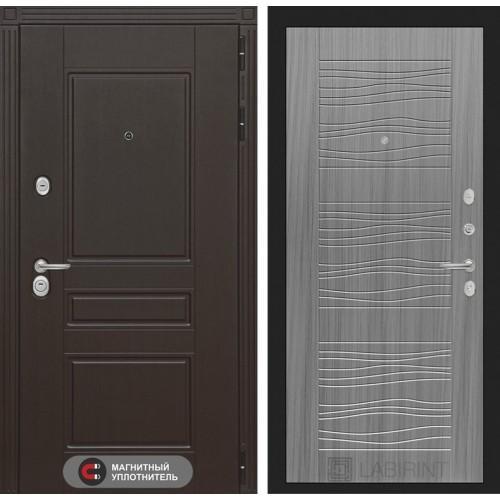 Входная дверь Мегаполис 06 - Сандал серый