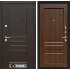 Входная дверь Мегаполис 03 - Орех бренди