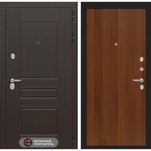Входная дверь Мегаполис 05 - Итальянский орех