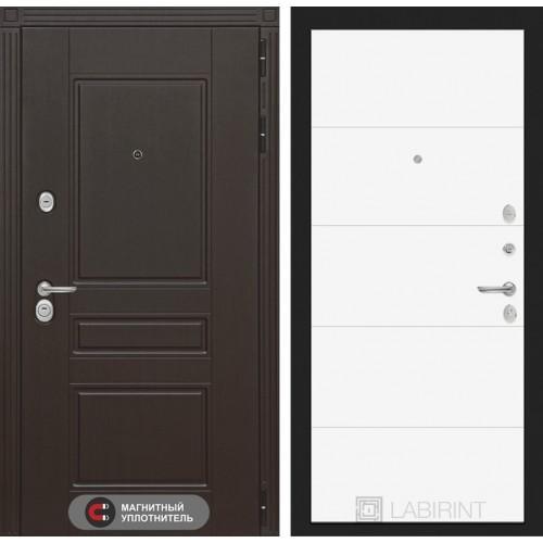 Входная дверь Мегаполис 13 - Белый софт