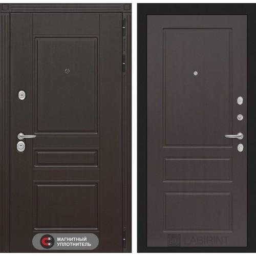 Входная дверь Мегаполис 03 - Орех премиум