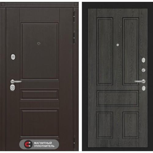 Входная дверь Мегаполис 10 - Дуб филадельфия графит