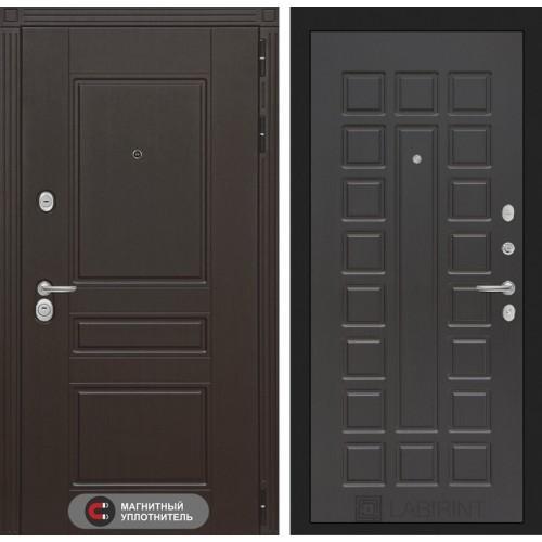 Входная дверь Мегаполис 04 - Венге