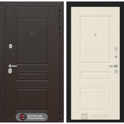 Входная дверь Мегаполис 03 - Крем софт