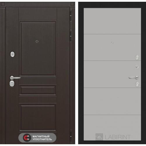 Входная дверь Мегаполис 13 - Грей софт