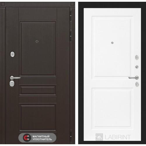 Входная дверь Мегаполис 11 - Белый софт