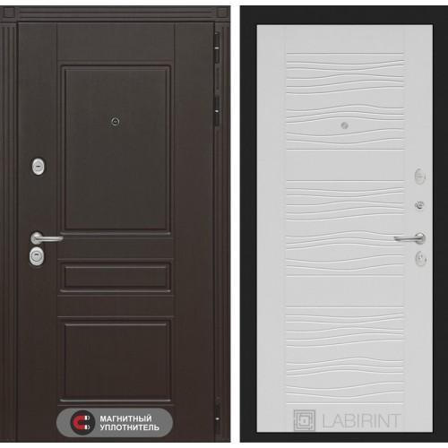 Входная дверь Мегаполис 06 - Белое дерево