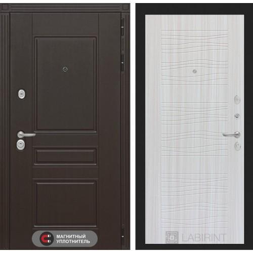 Входная дверь Мегаполис 06 - Сандал белый