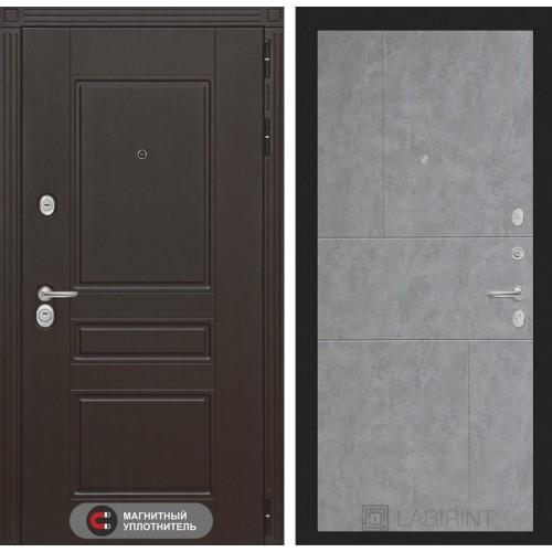 Входная дверь Мегаполис 21 - Бетон светлый