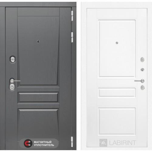Входная дверь Платинум 03 - Белый софт