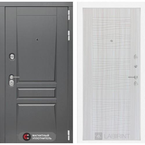 Входная дверь Платинум 06 - Сандал белый