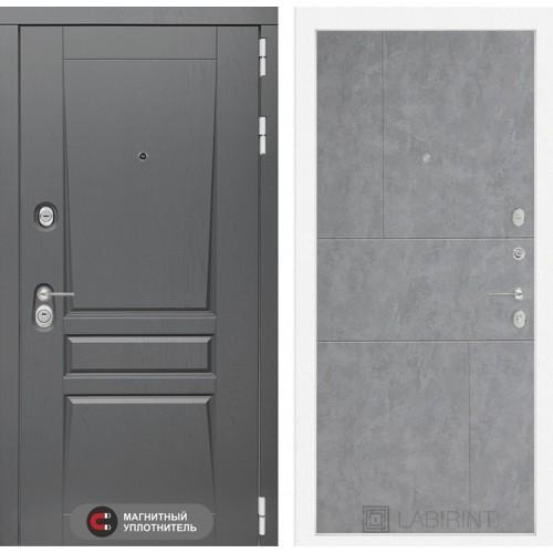 Входная дверь Платинум 21 - Бетон светлый