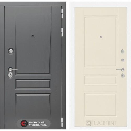 Входная дверь Платинум 03 - Крем софт