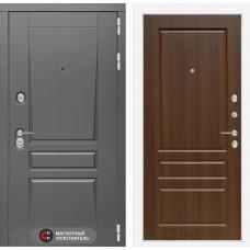 Входная дверь Платинум 03 - Орех бренди