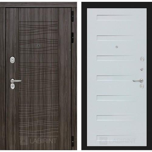 Входная дверь SCANDI 14 - Дуб кантри белый горизонтальный