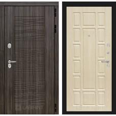 Входная дверь SCANDI Дарк грей 12 - Беленый дуб