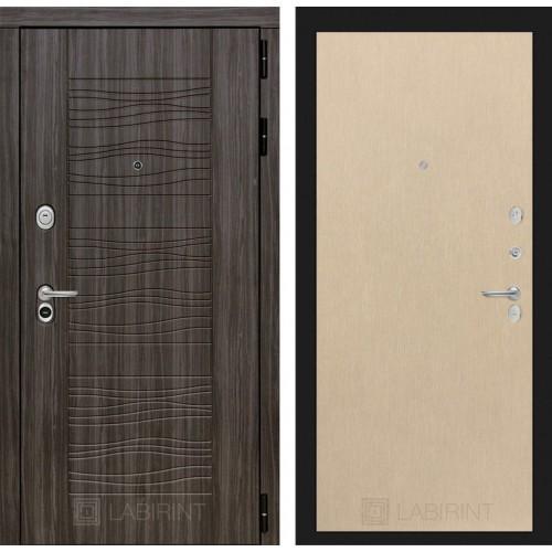 Входная дверь SCANDI Дарк грей 05 - Венге светлый