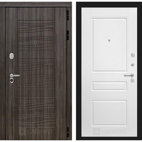 Входная дверь Сканди 03 - Белый софт