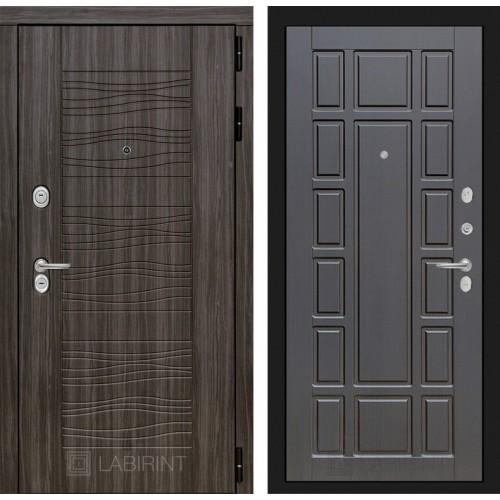 Входная дверь SCANDI Дарк грей 12 - Венге