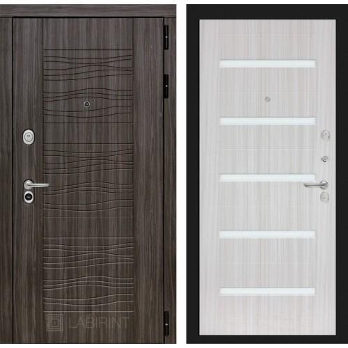 Входная дверь SCANDI 01 - Сандал белый