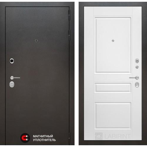 Входная дверь SILVER 03 - Белый софт