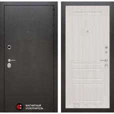 Входная дверь SILVER 03 - Сандал белый