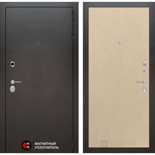Входная дверь Сильвер 05 - Венге светлый